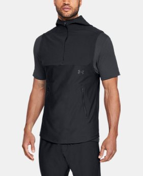 New Arrival  Men's UA Vanish Sleeveless Hoodie  1  Color Available $90