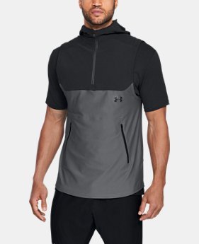 Men's UA Vanish Sleeveless Hoodie  1  Color Available $90