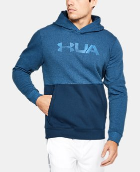 Men's UA Microthread Fleece Hoodie  1  Color Available $60