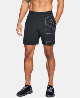 New Arrival Men's UA Cage Graphic Shorts  2  Colors $44.99