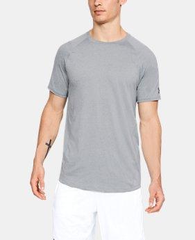 c7dd9fa0a0 Men's Gray HeatGear Short Sleeve Shirts | Under Armour US