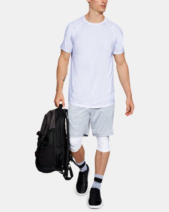 Men's UA MK-1 Short Sleeve, White, pdpMainDesktop image number 1