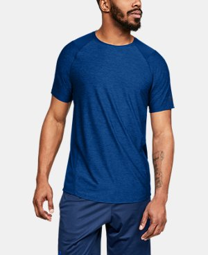 55275021 Men's Blue Short Sleeve Shirts | Under Armour US