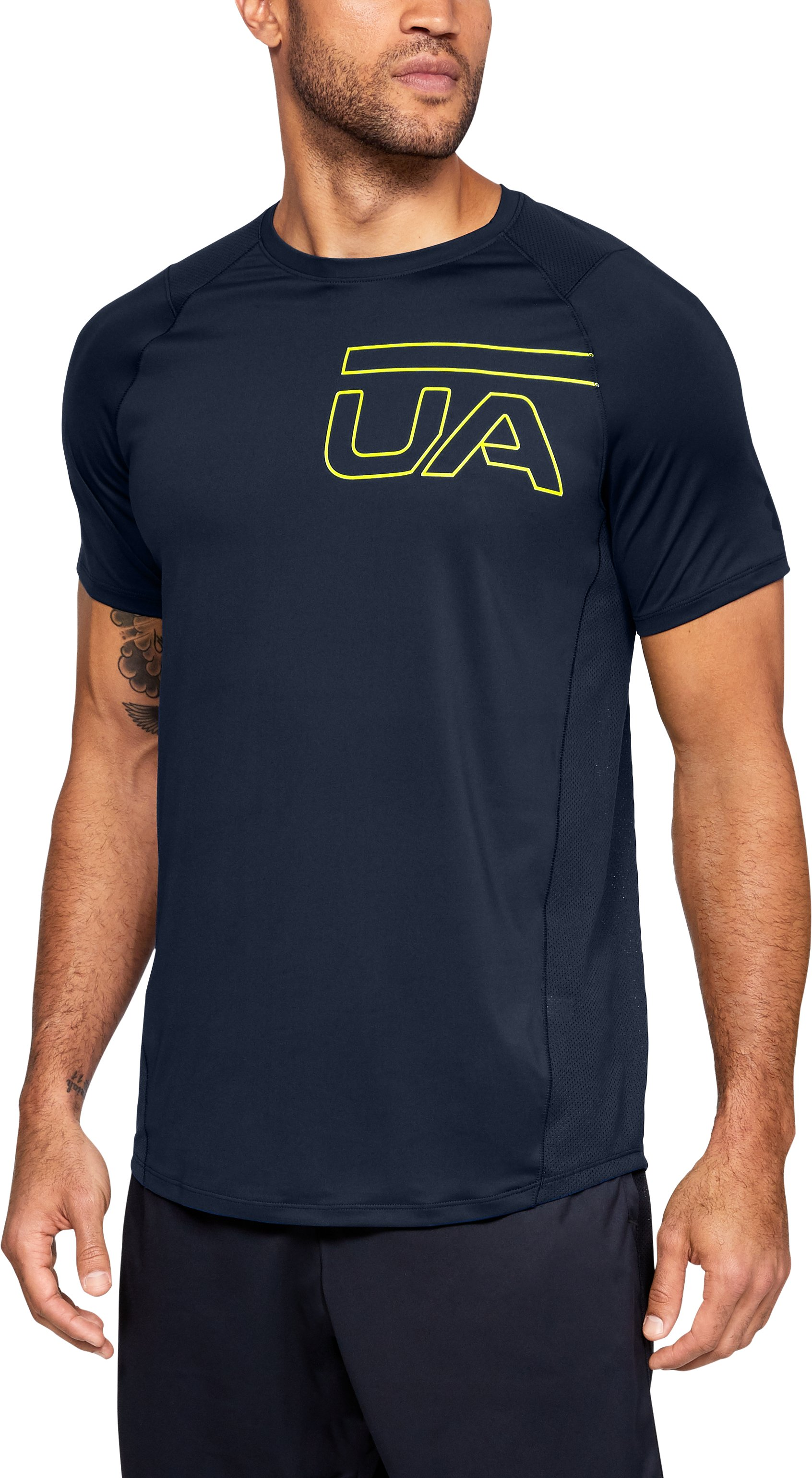 Men's UA MK-1 Graphic Short Sleeve, Academy, undefined