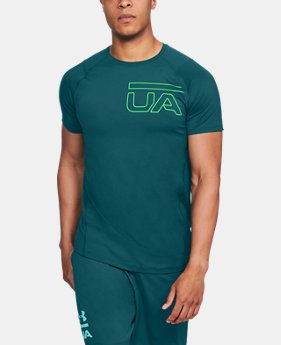 Men's UA MK-1 Graphic Short Sleeve  6  Colors Available $22.5