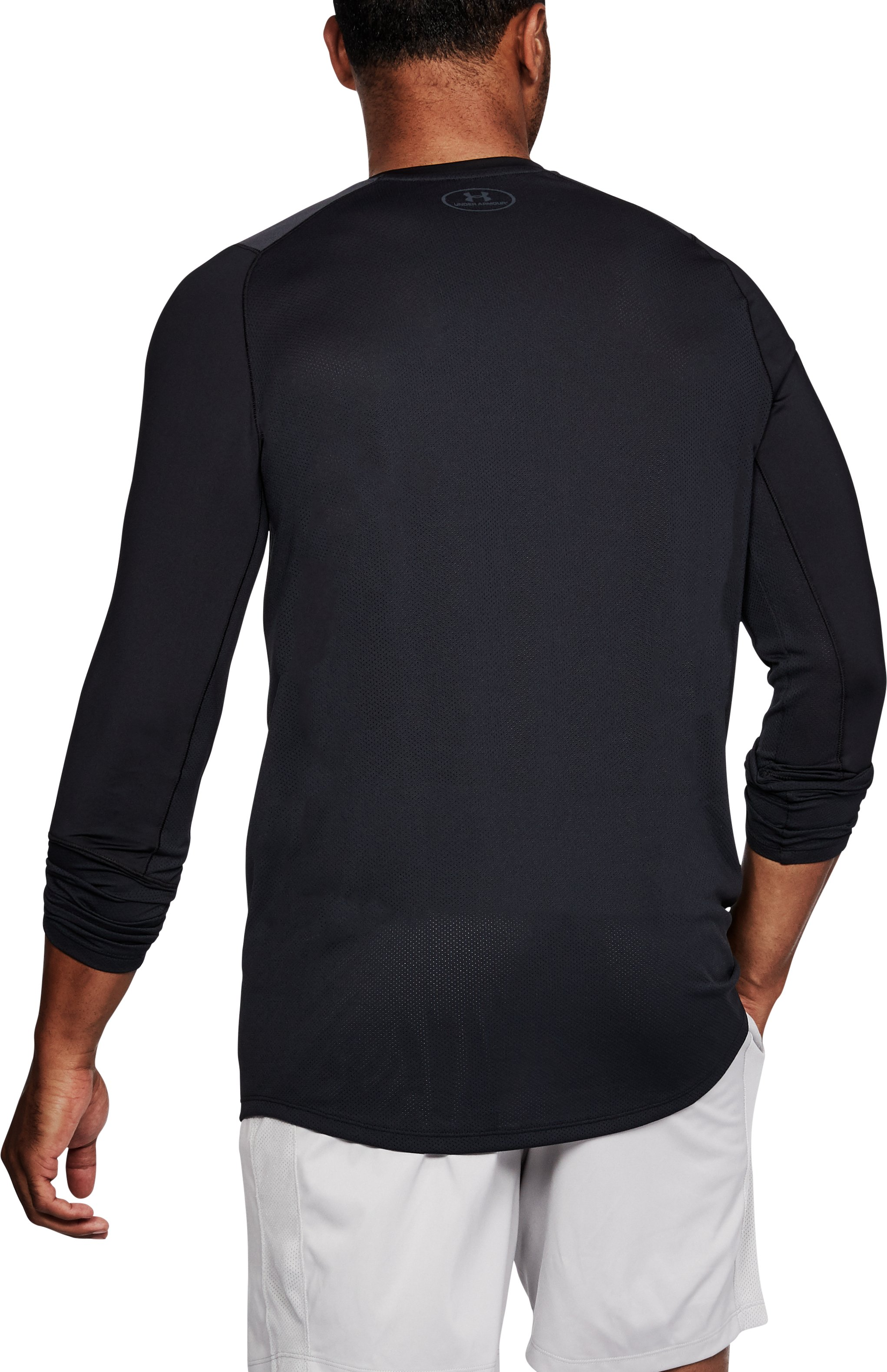 Men's UA MK-1 Long Sleeve, Black ,