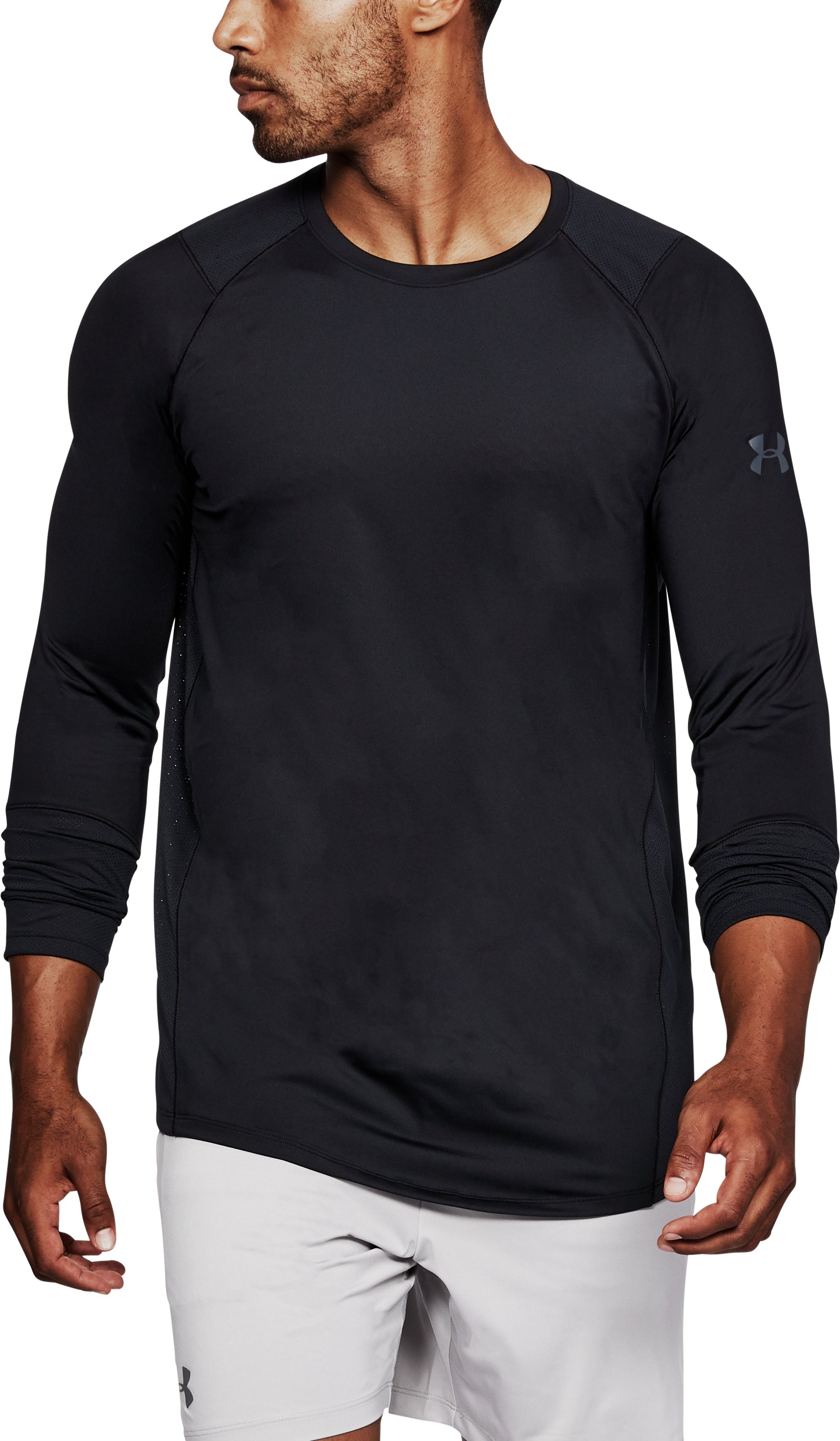 Men's UA MK-1 Long Sleeve, Black