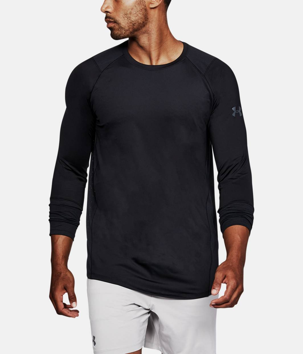 Men 39 s ua mk 1 long sleeve under armour us for Under armour i will shirt