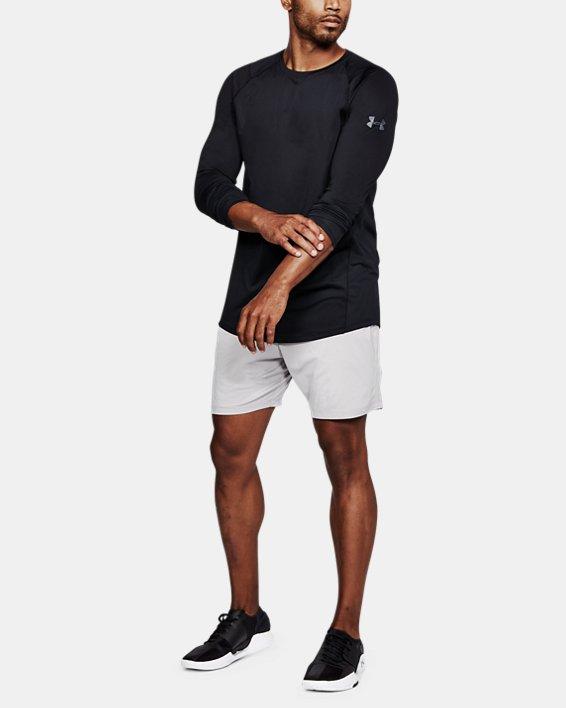 Men's UA MK-1 Long Sleeve, Black, pdpMainDesktop image number 1