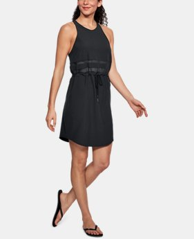 Women's UA ODL Racer Back Woven Dress  1  Color Available $75