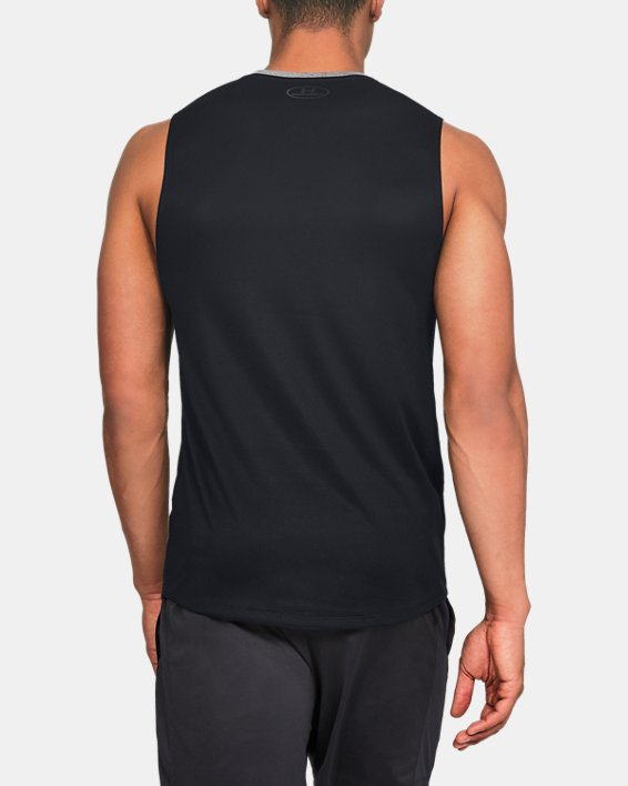 Men's UA MK-1 Sleeveless, Gray, pdpMainDesktop image number 2