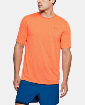 New Arrival Men's UA Threadborne Siro Striped T-Shirt  1 Color $29.99