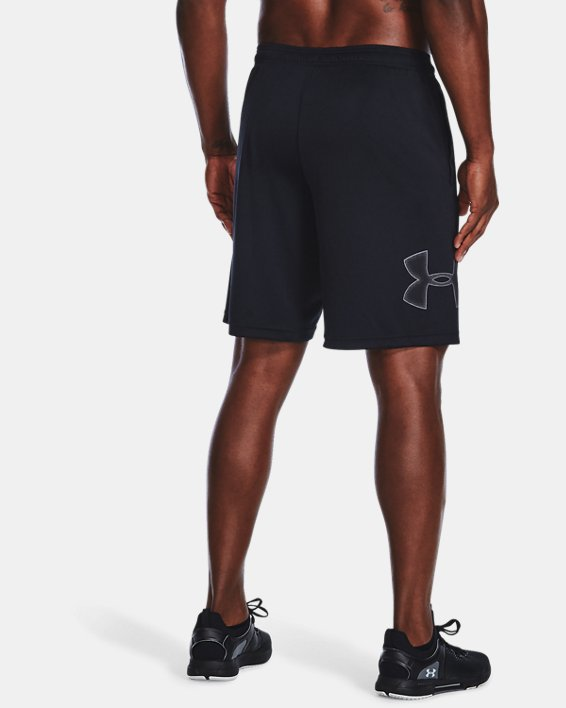 Pantalón corto con estampado UA Tech™ para hombre, Black, pdpMainDesktop image number 2