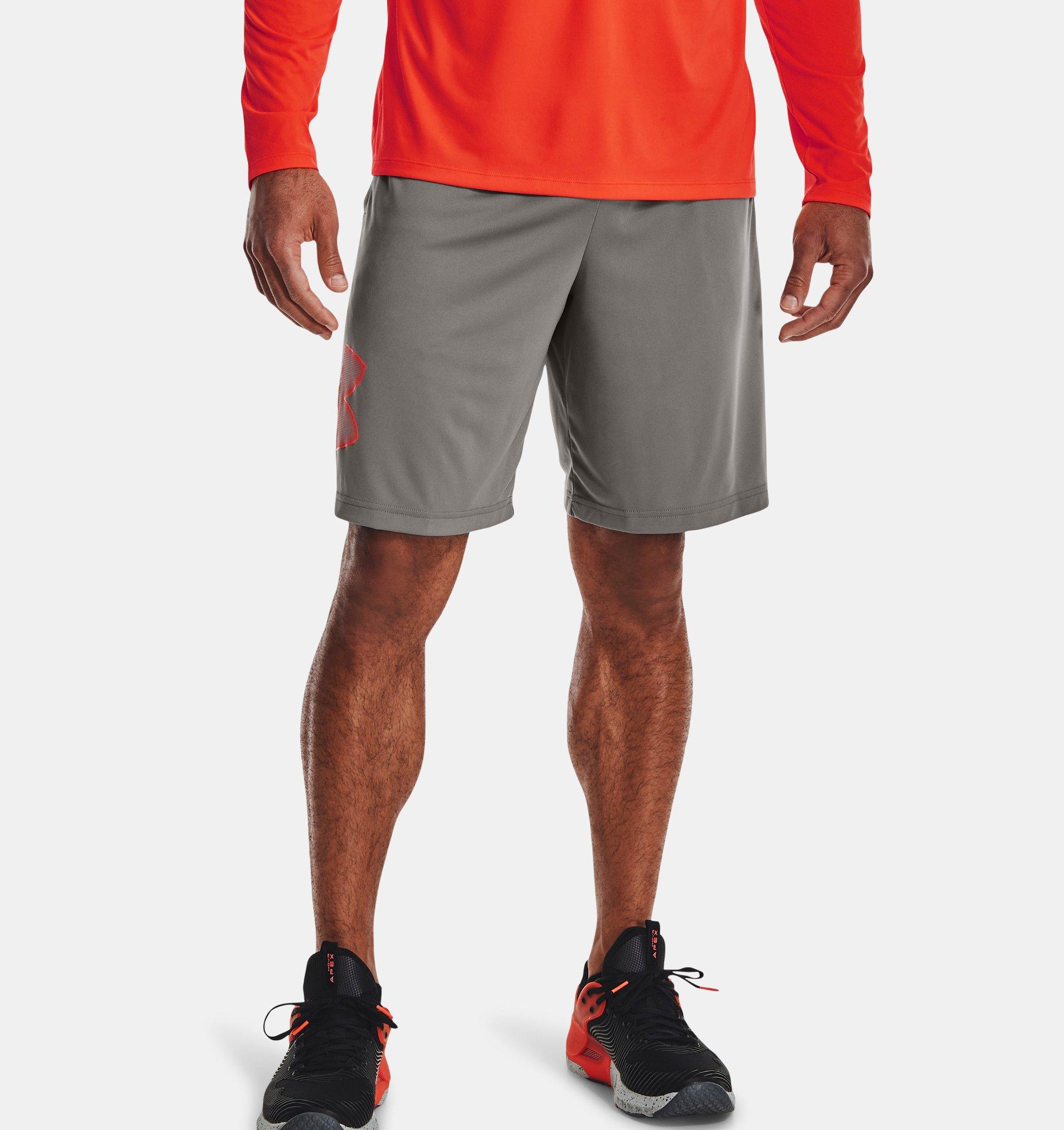 Men's UA Tech™ Graphic Shorts, Gray, pdpZoomDesktop image number 0