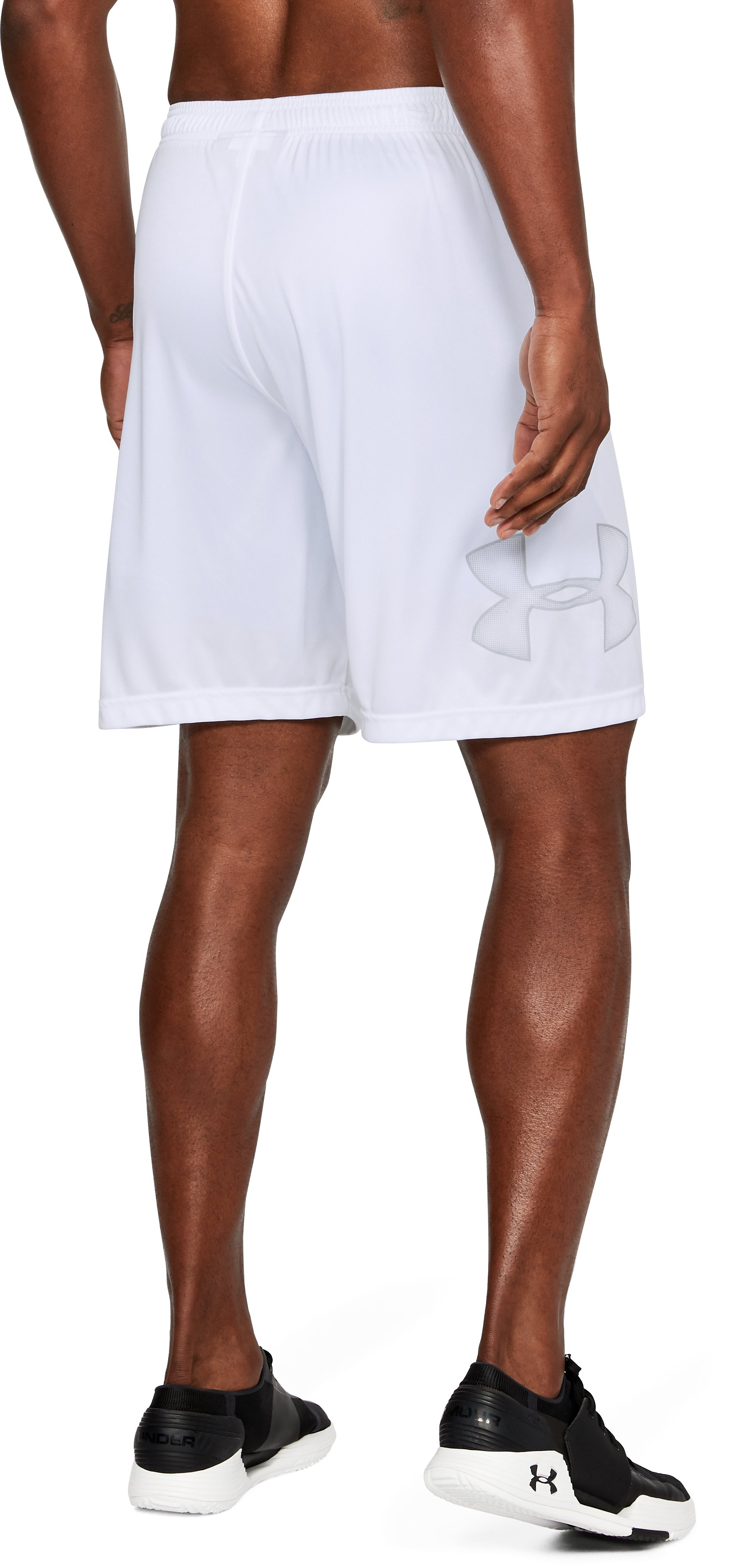 Men's UA Tech™ Graphic Shorts, White, undefined