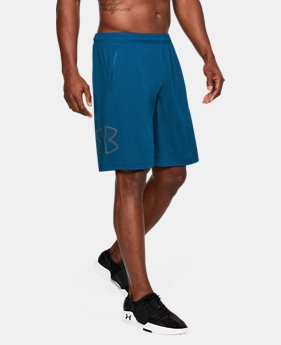 Men's UA Tech™ Graphic Shorts LIMITED TIME: FREE SHIPPING 1  Color Available $35