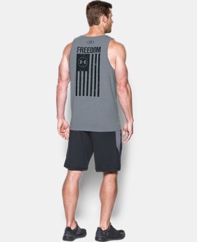 Men's UA Freedom Flag Tank  1 Color $24.99