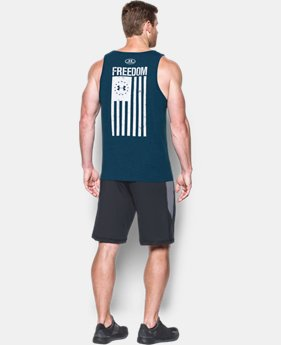 Men's UA Freedom Flag Tank  2 Colors $24.99