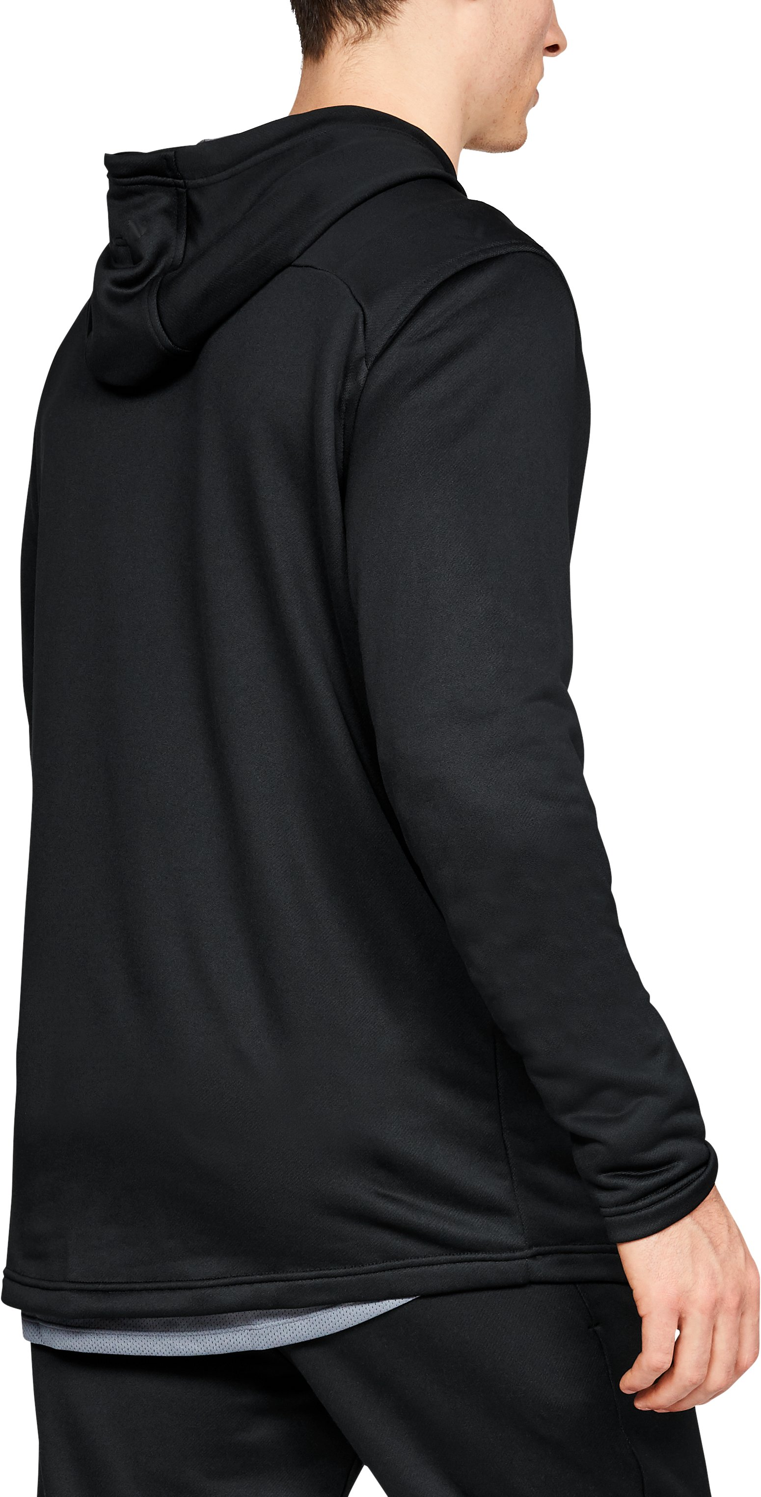 Men's UA MK-1 Terry Graphic Hoodie, Black , undefined
