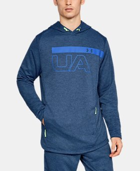 Men's UA MK1 Terry Graphic Hoodie  1 Color $55