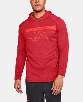 Men's UA MK-1 Terry Graphic Hoodie  1 Color $55