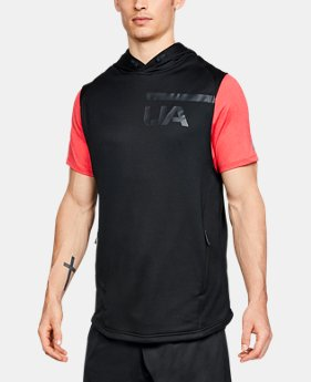 Men's UA MK-1 Terry Sleeveless Hoodie  2  Colors Available $65
