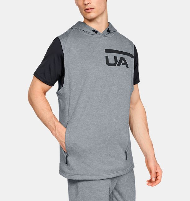 7b36760ce Men's UA MK-1 Terry Sleeveless Hoodie | Under Armour US