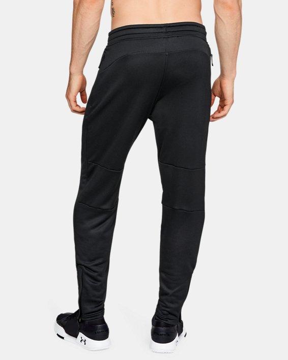 Men's UA MK-1 Terry Tapered Pants, Black, pdpMainDesktop image number 2