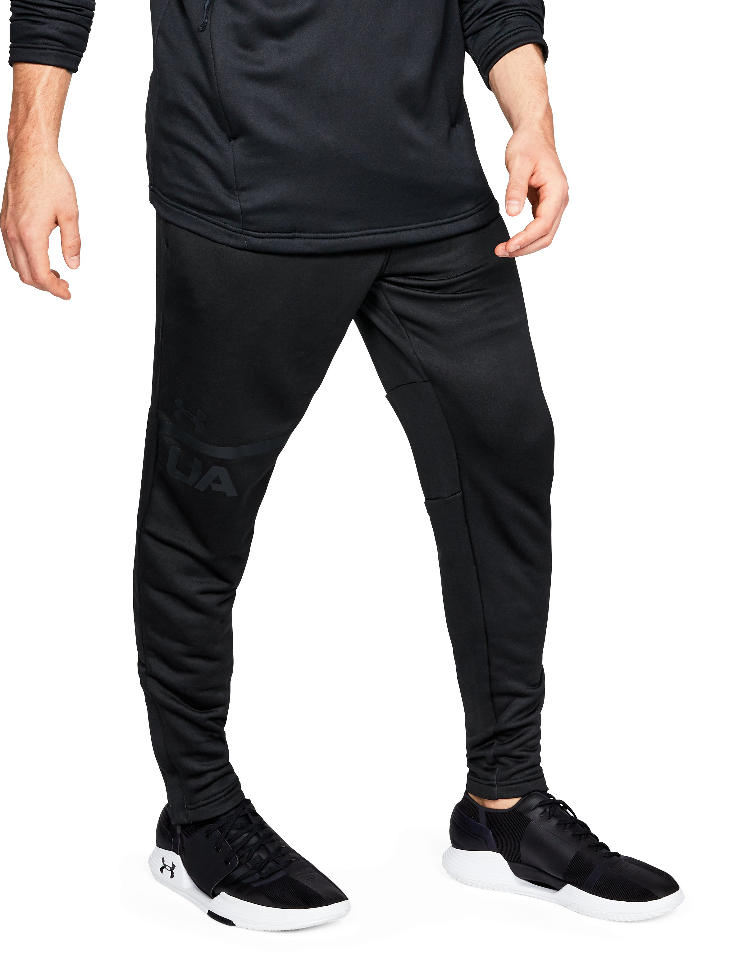 Men's UA MK-1 Terry Tapered Pants, Black
