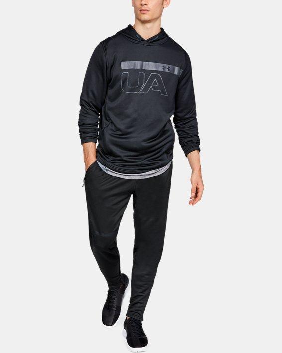 Men's UA MK-1 Terry Tapered Pants, Black, pdpMainDesktop image number 1