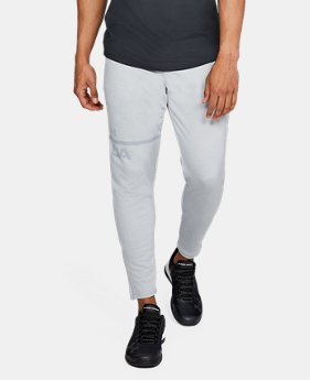 Men's UA MK-1 Terry Tapered Pants  2  Colors Available $33