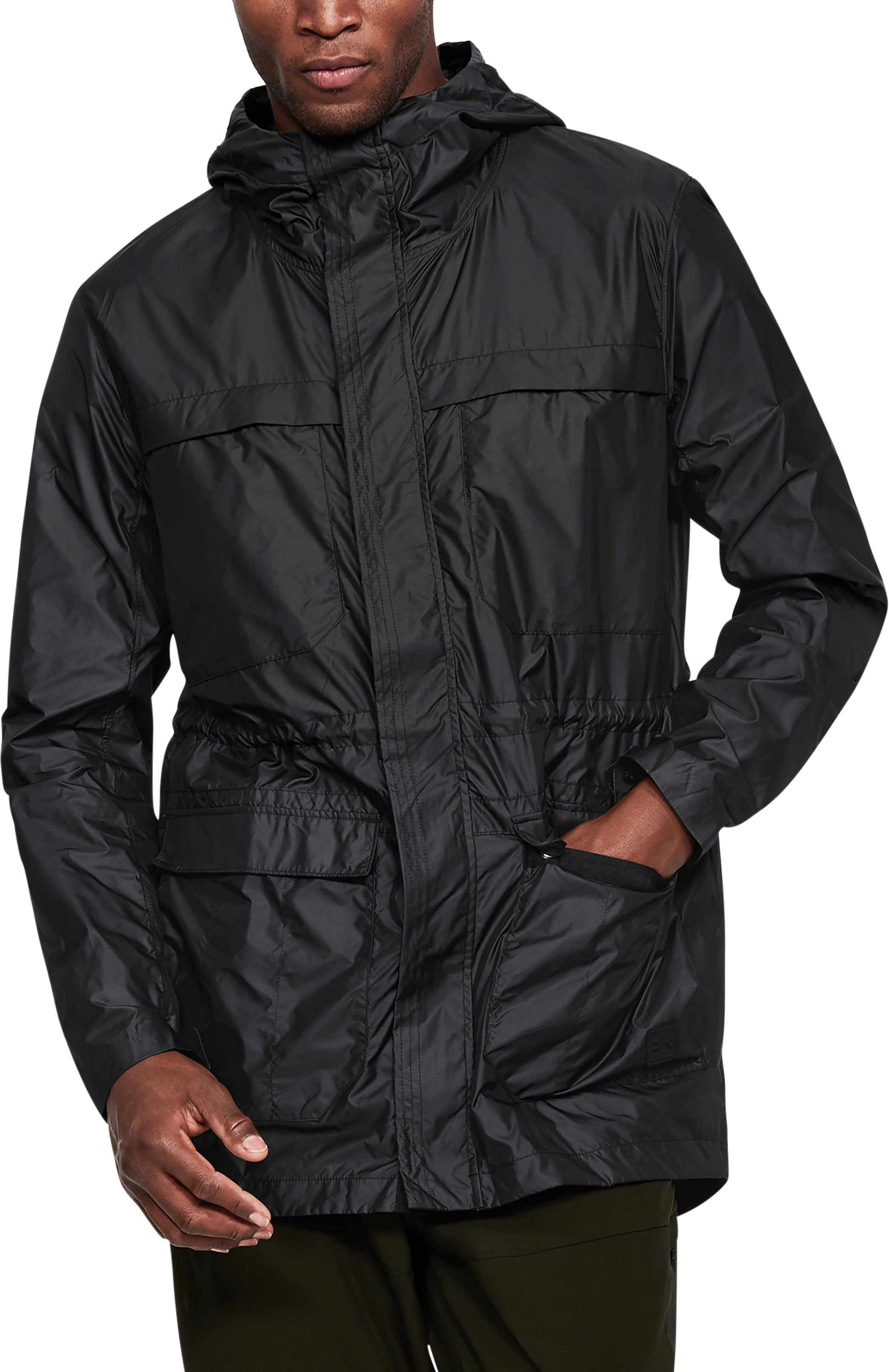 Men's UA Sportstyle Elite Parka, Black