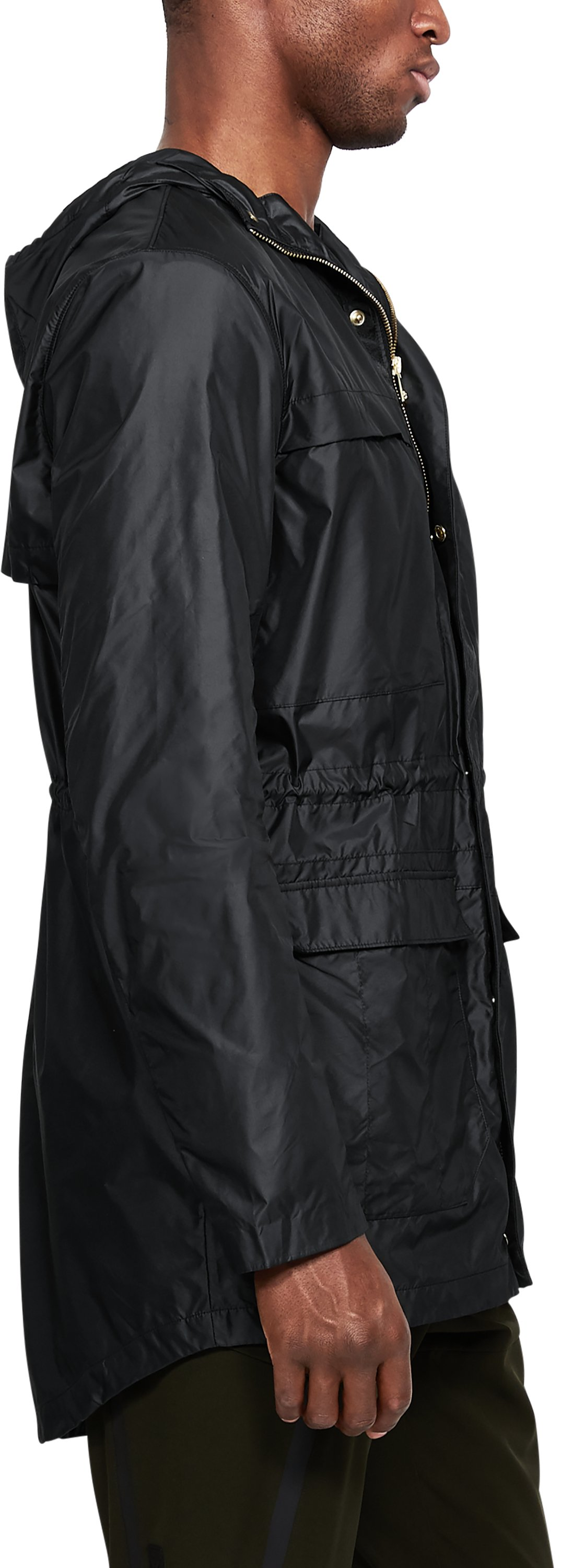 Men's UA Sportstyle Elite Parka, Black ,