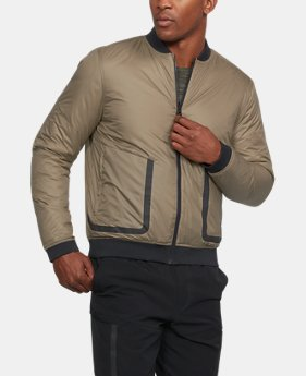 Men's UA Sportstyle ColdGear® Reactor Bomber Jacket  1 Color $180