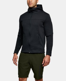 New Arrival Men's UA Sportstyle Elite Utility Full Zip  4 Colors $100