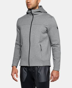 Men's UA Sportstyle Elite Utility Full Zip  2  Colors Available $130