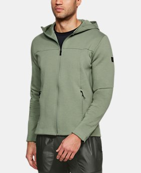 Men's UA Sportstyle Elite Utility Full Zip  4  Colors $100