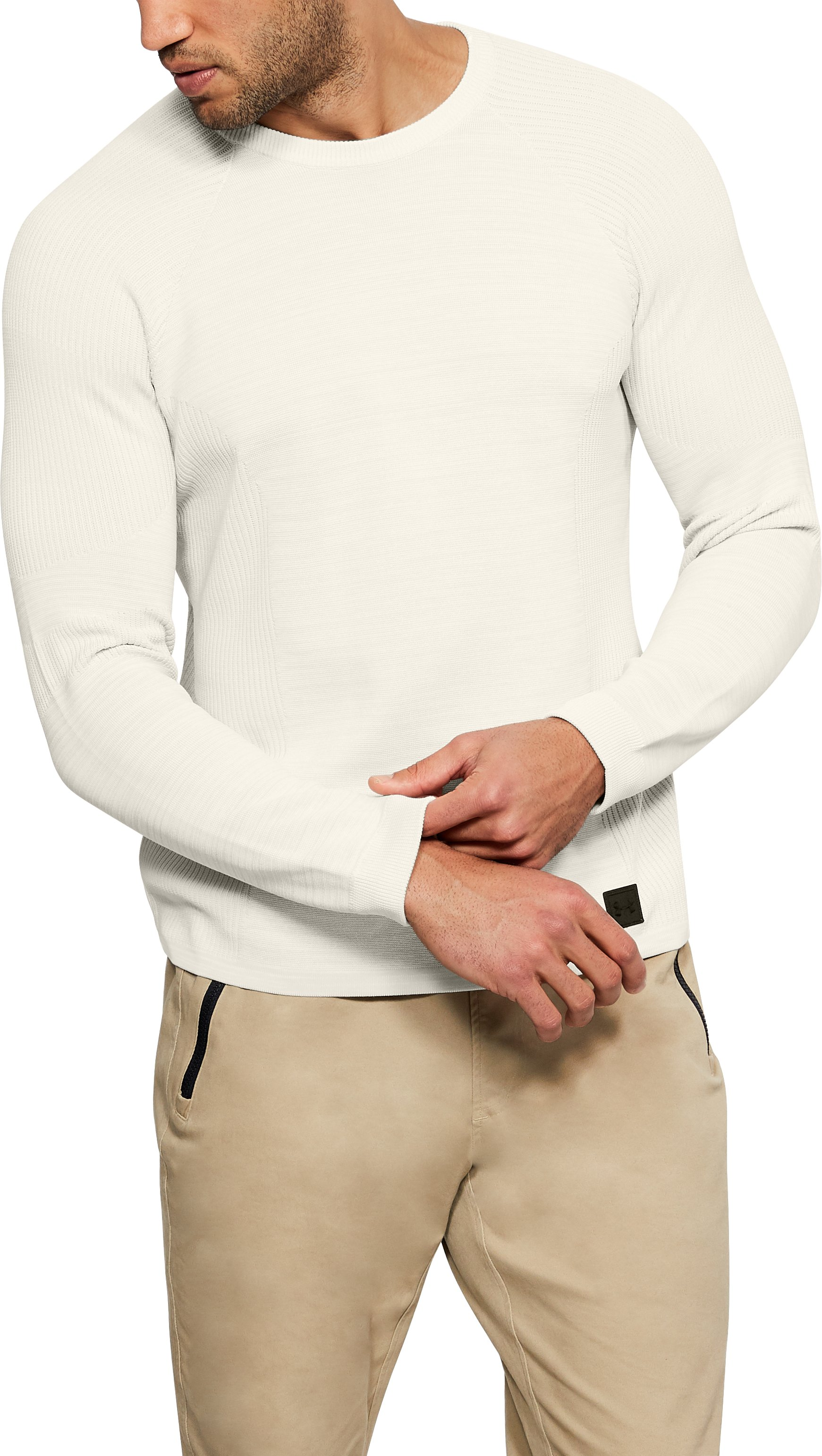 Men's UA Sportstyle Sweater, Ivory