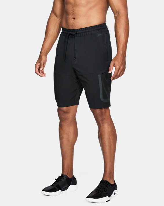 Men's UA Sportstyle Elite Cargo Shorts, Black, pdpMainDesktop image number 0