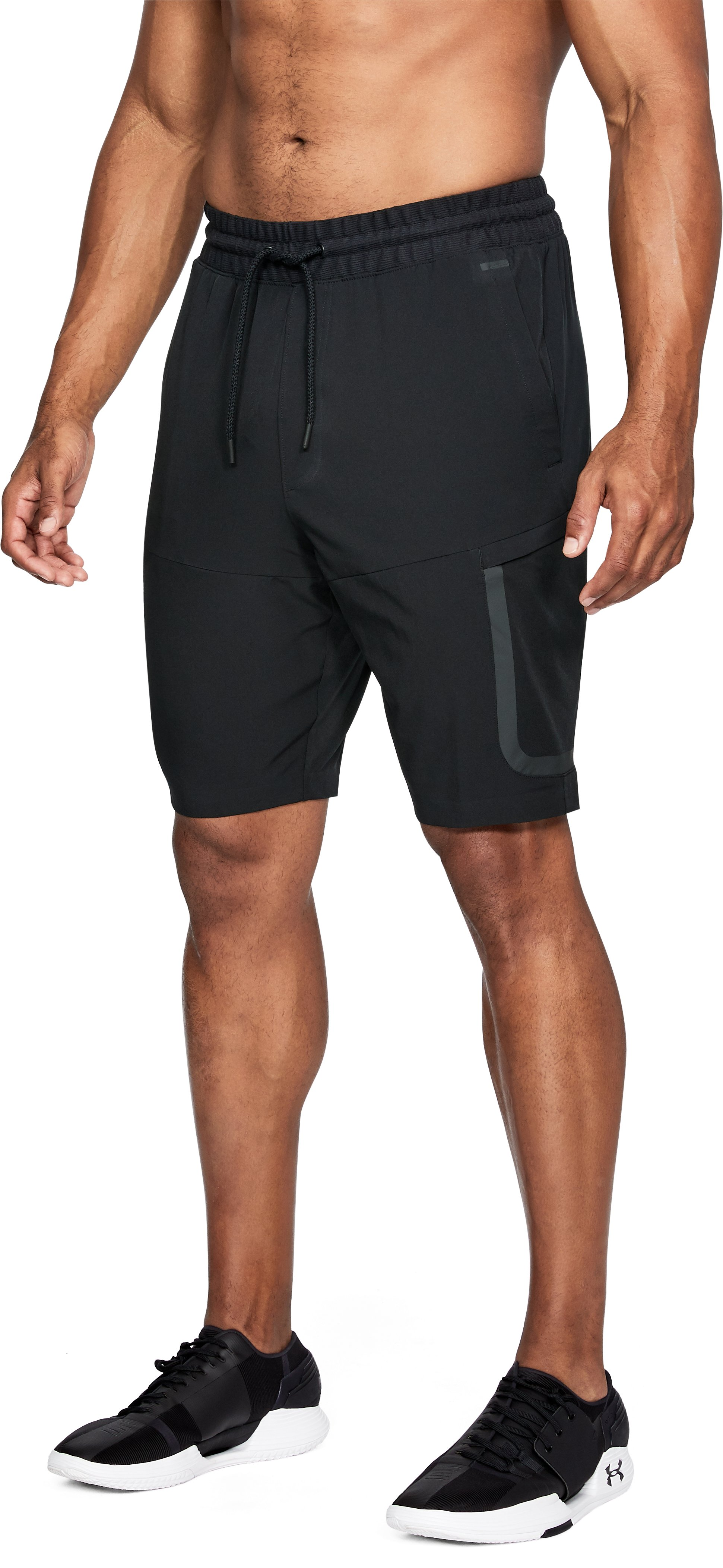 Men's UA Sportstyle Elite Cargo Shorts, Black
