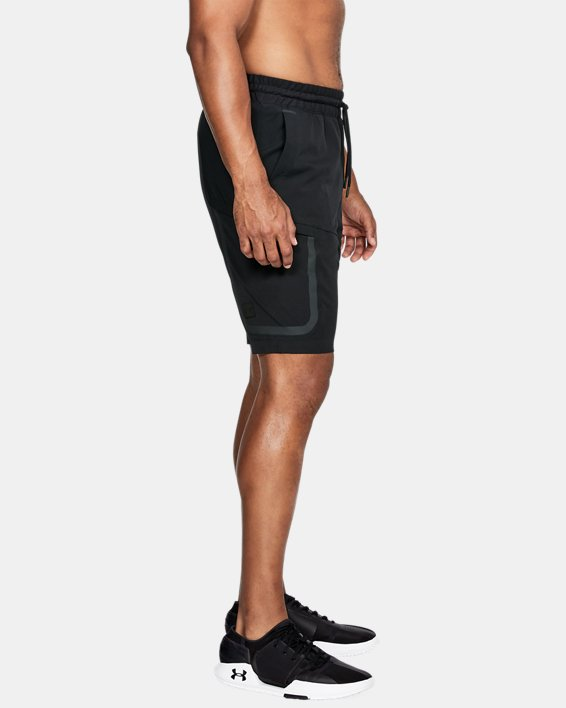 Men's UA Sportstyle Elite Cargo Shorts, Black, pdpMainDesktop image number 3