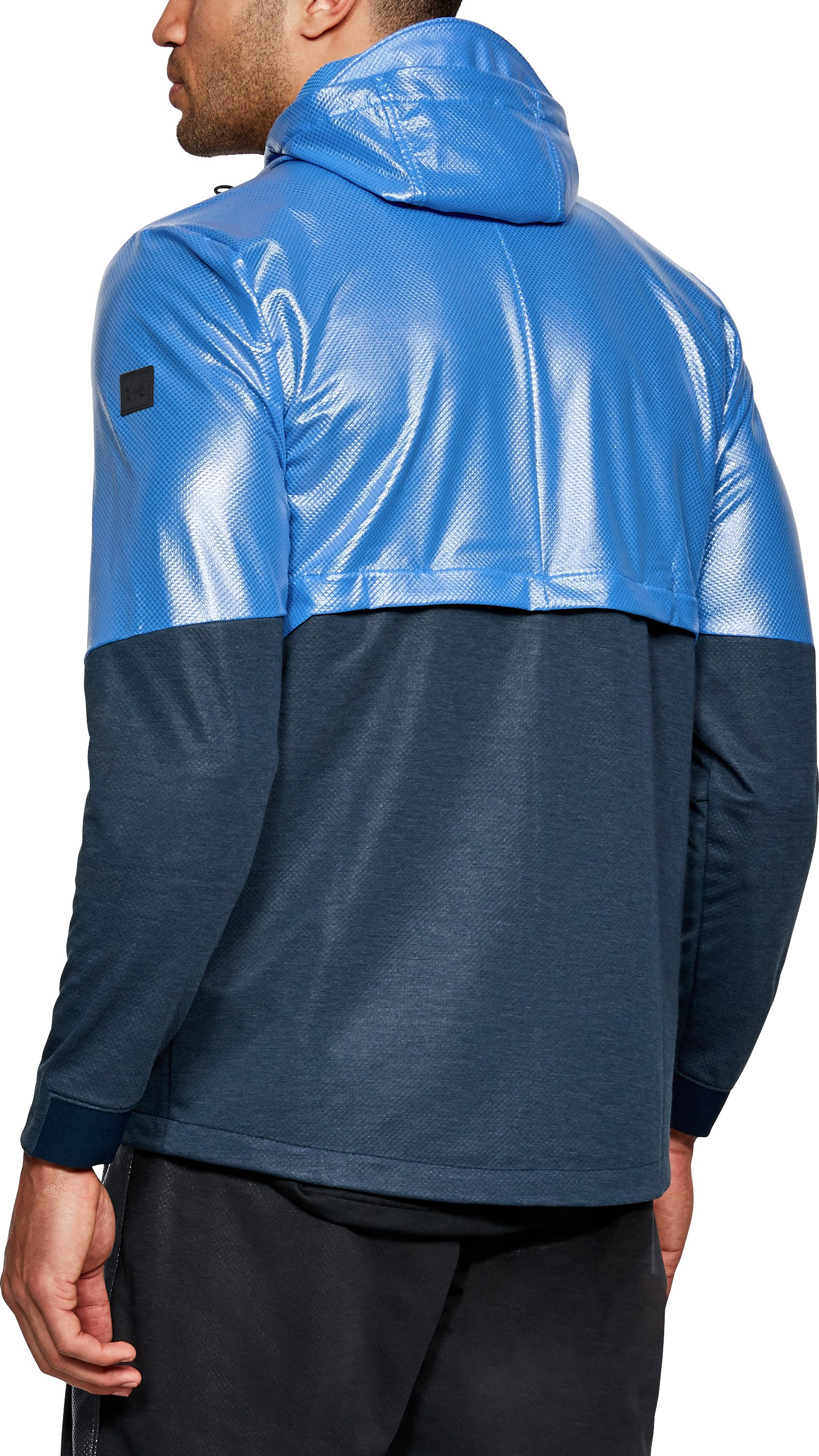 Men's UA Hybrid Windbreaker, Mediterranean, undefined