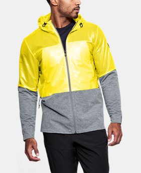 Men's UA Hybrid Windbreaker  1  Color Available $120