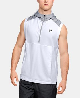 Men's UA Microthread Terry Sleeveless Hoodie  1  Color Available $70