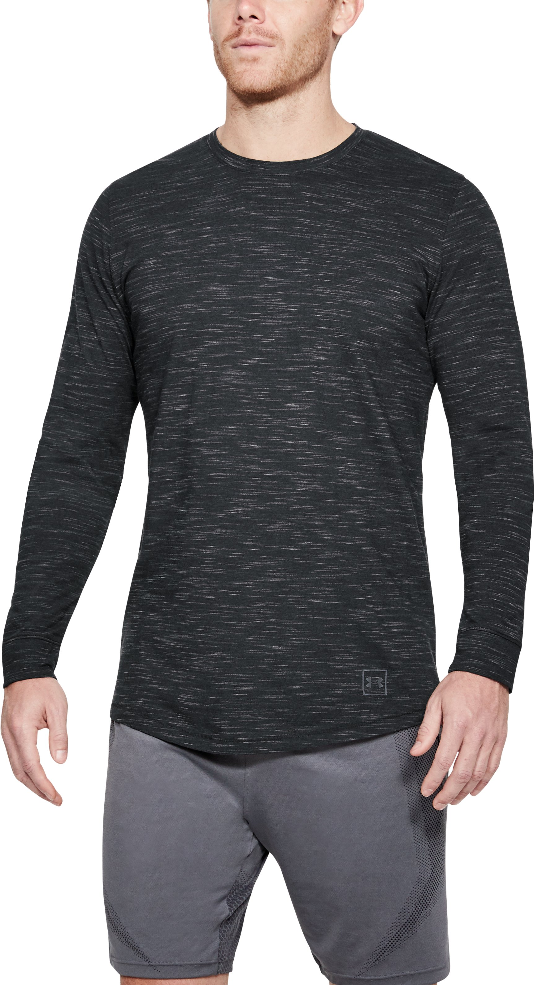 Men's UA Sportstyle Long Sleeve, Black