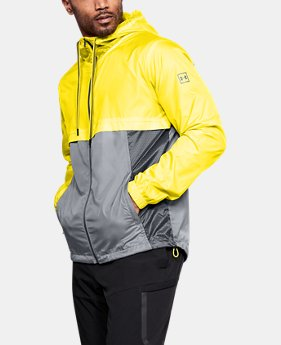Men's UA Sportstyle Windbreaker Jacket  4 Colors $95