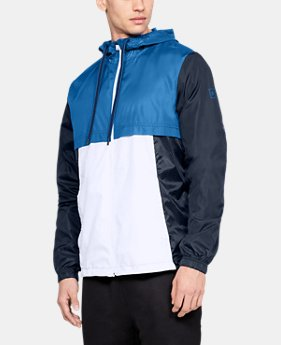 Men's UA Sportstyle Windbreaker Jacket  6  Colors Available $48