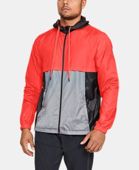 Men's UA Sportstyle Windbreaker Jacket  1  Color $48