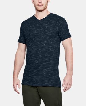 Men's UA Sportstyle Core V-Neck  1  Color Available $18 to $22.5