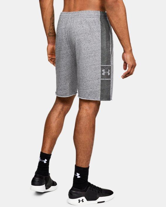 Men's UA EZ Knit Shorts, Gray, pdpMainDesktop image number 2